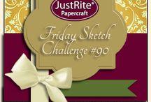 #090 JustRite Friday Challenge -Sketch Challenge