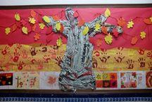 mural de otoño