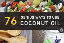 Coconut Nut Oil / Uses for Coconut Oils / by Dana Walker
