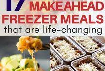 Make ahead meals!!!