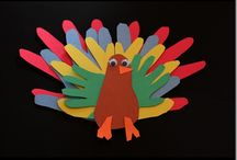 {Thanksgiving Crafts For Kids} / Fun and easy Thanksgiving crafts for kids ages 2 to 6