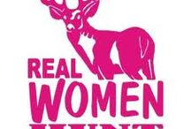 On The Hunt / Woman hunting,fishing,catching and growing. Providers for the family.