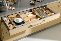 Kitchen Organisation Ideas / Funky things to keep the kitchen tidy and practical
