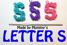 Loom Bands Letters