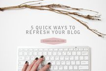 BLOG. / Blog tricks, tips, SEO and designs. All to make your blogging experience better.
