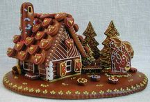 пряничный домики