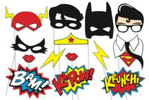 DIY Party / Superheroes printable mask