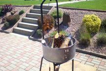Fabriquer votre barbecue pas cher / Et voilà un barbecue à 0 € et avec des pièces de rechange, facile à trouver.  Ce barbecue a plus de vingt ans, il suffit de lui refaire une beauté, tous les quelques années, comme je viens de le faire