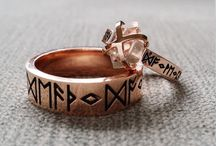 ❣ wedding ring celtic rustic viking medieval style / wedding ring, alliance, raw material especiammy wood, rustic finish, fantasy, fairy tale, rune, nordic, celtic, medieval