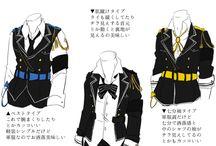 服のデザイン