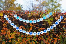 Novemberry / There are garlands, banners and wallhangers by Novemberry https://www.etsy.com/ru/your/shops/novemberryshop/