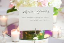 Wedding Table Numbers & Names / Popular and creative ideas for wedding table numbers and table names for your wedding.