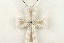Croce perline