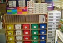 Home school supply organising