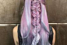 Colorful hair obsession #opalhair
