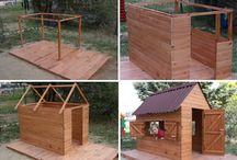 домик детский для сада