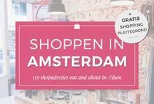 Shoppen in amsterdam