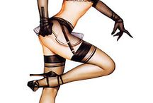 Pin up Girls.....how it use to be#classy#glamorous#divine