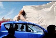 Videowand / Videowände für multimediale Präsentationen