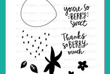 Berry Sweet stamp set