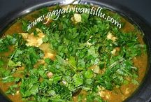Paneer & Party Recipes - Gayatri Vantillu / All Dhaba & Non-South Indian Recipes are hosted here