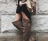 over the knee boots :) / by Tracy Boyett Williams
