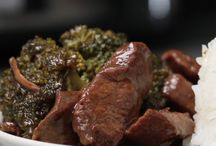 Slow cooker beef & brocolli