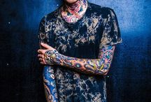 Oliver Sykes / Oli Sykes from Bring Me The Horizon <3