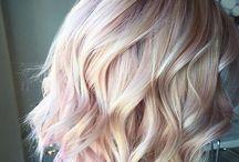 Rose gold blonde
