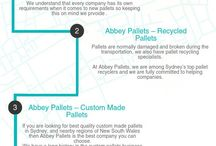 Abbey Pallets - Info-graphics