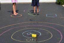 Kids games outdoor