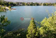 Quarry Lake - Photo, Image Gallery / Northwest Austin's Quarry Lake is a pristine, spring-fed lake surrounded by 58 acres of parkland, trees, and jogging trails, is an oasis of natural beauty at the nexus of five suburban neighborhoods.