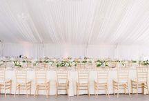 Blush and White Wedding