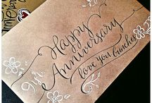 Typography&Calligraphy / by Lacy Baines