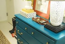 Furniture Repurposing & Refinishing / Find old furniture and make it new again.