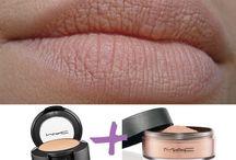maquiagem e produtos