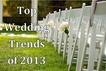 Wedding Trends of 2013 / Unique and traditional wedding trends seen at the Estate