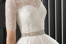Vestidos de novia....