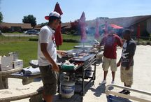 Volunteers / Volunteers from BBQs, Luau, Resident Events, Honey Do's and more...