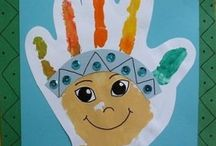 Native american crafts for kids / This page has a lot of free Native american crafts for kids,parents,teachers.