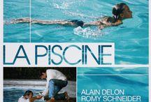 Piscine et cinéma / La piscine est un lieu suggestif qui a beaucoup inspiré les réalisateurs de cinéma qui lui-même fini par inspirer des créateurs comme Piscinelle... la boucle est bouclée !