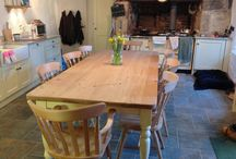 Heart of the home / Beautiful furniture to create the perfect farmhouse feel.