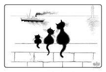 Dubout's Cats