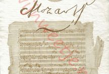 Wine labels of composers./Wijnetiketten van componisten.