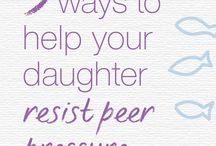 Raising Confident Daughters / Tips and resources for raising girls that are confident, smart and have healthy self-esteem. How to teach daughters to have healthy relationships, especially during elementary and middle school.