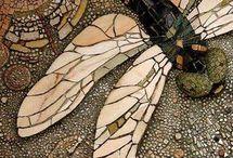 Butterflies dragon flies