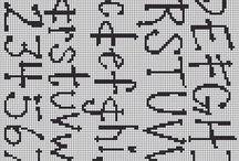 Perler bogstaver
