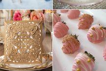 Personalized wedding cakes