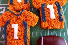 Football and football foods