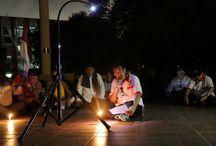 Malam Renungan Suci di Tugu Proklamasi Berlangsung Khusyuk / Wakil Gubernur DKI Jakarta, Djarot Saiful Hidayat melakukan malam renungan suci di Tugu Proklamasi, Menteng, Jakarta Pusat, Minggu (16/08/2015) malam. Malam renungan suci bersama Persatuan Keluarga Besar Pelajar Pejuang Kemerdekaan (PKBPPK) kegiatan ini dimaksudkan mengenang dan meneladani semangat heroisme dan patriotisme para pejuang kemerdekaan.(Foto: Reza / Beritajakarta.com)